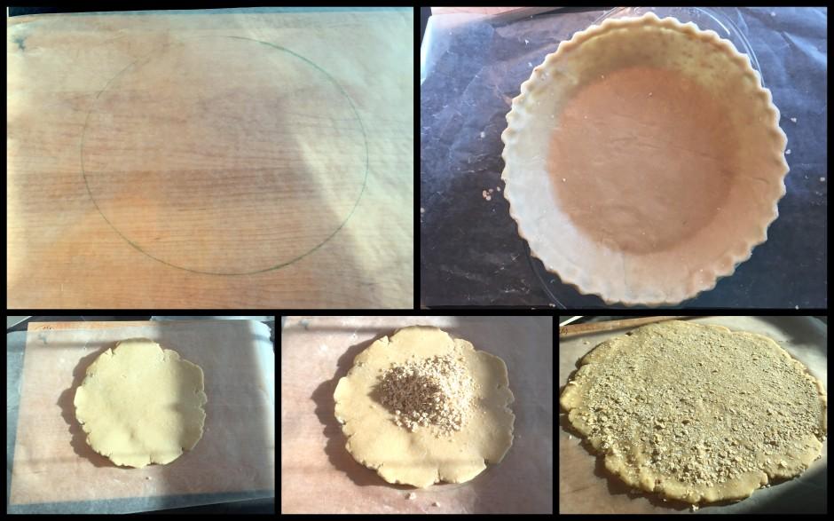 Pie Crust for Apple Oat Streusel Pie