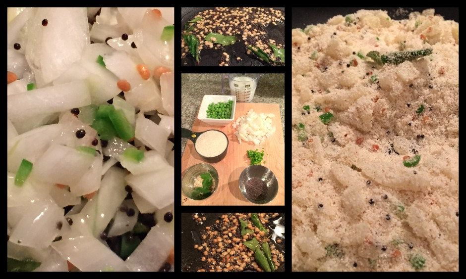 Upma Ingredients