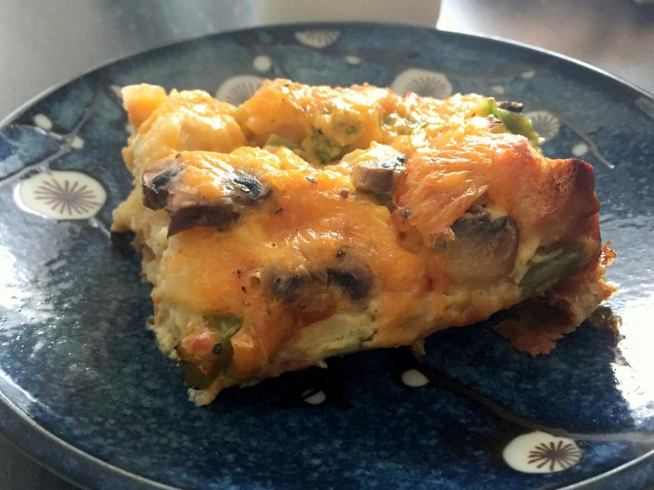 Veg Egg Bake