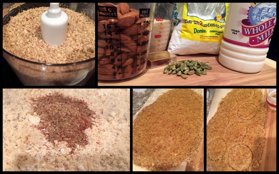 Badam Puri Ingredients
