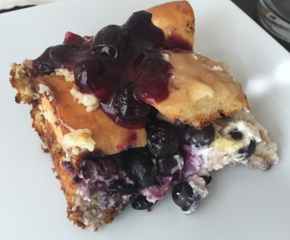 Piece of Blueberry French Toast