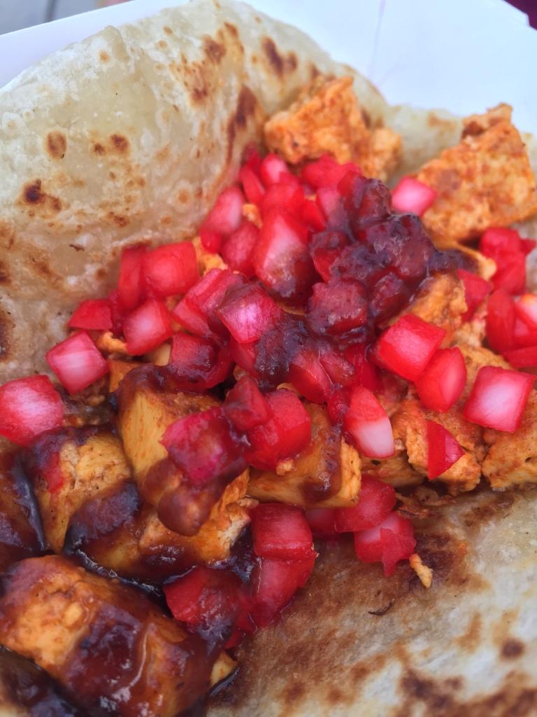 Chicken Tikki Taco